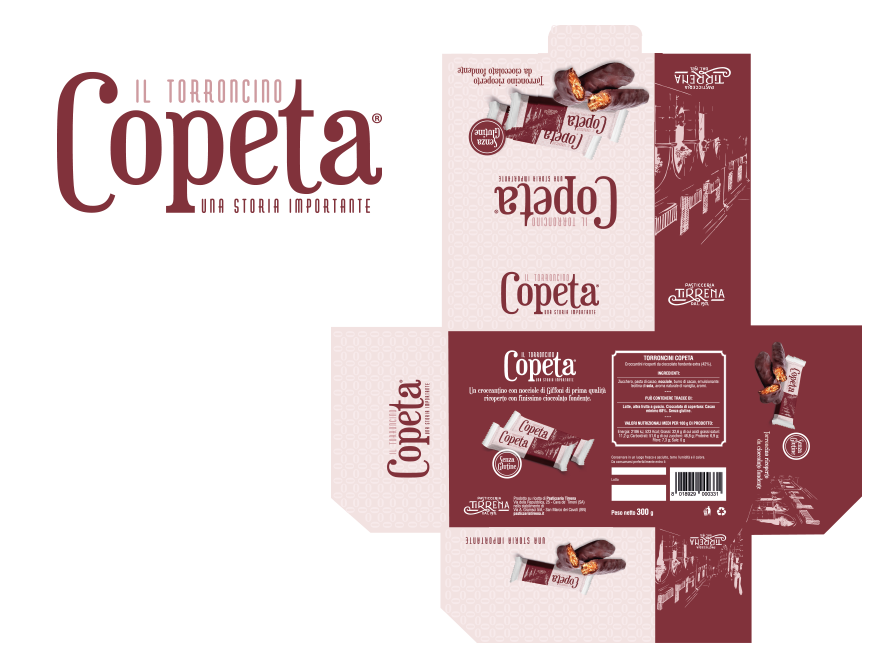 mock up - copeta brand e pack
