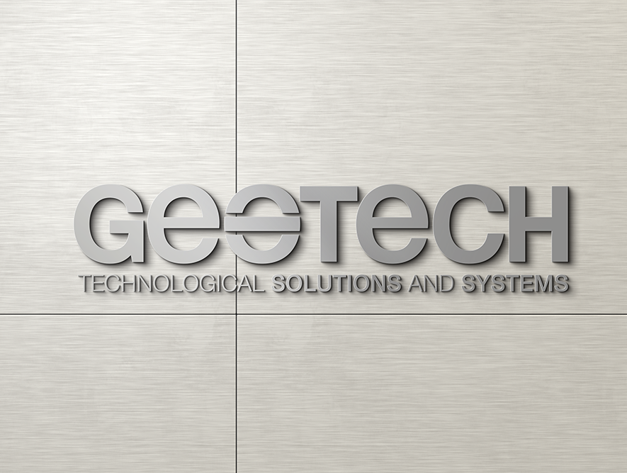 mock up - geotech logo